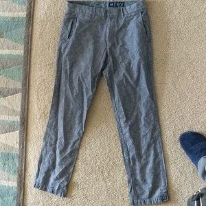 Gap linen / cotton pants